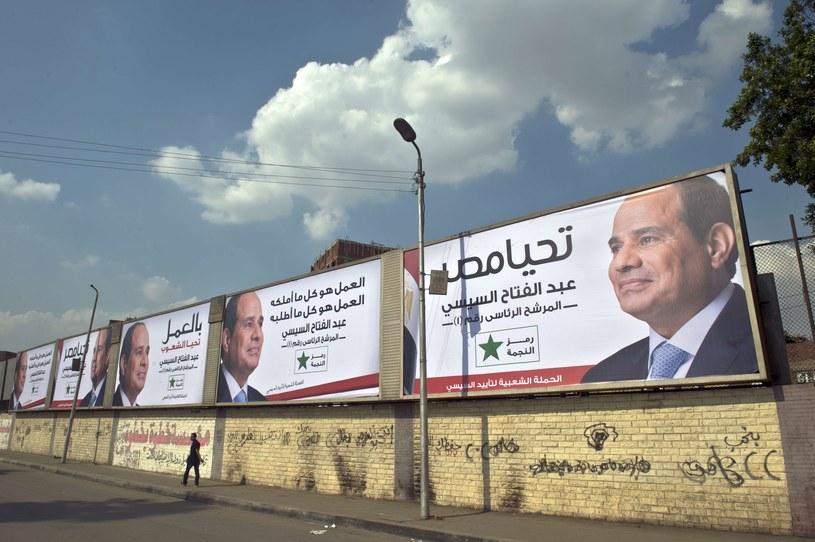 Prezydent Egiptu Abd el-Fatah es-Sisi. /AFP