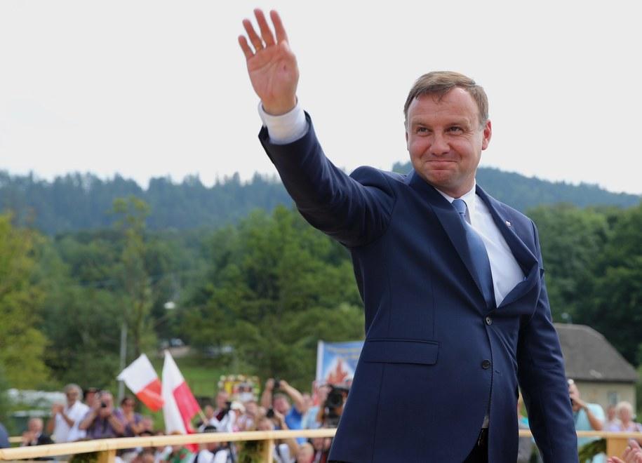 Prezydent elekt Andrzej Duda /Andrzej Grygiel /PAP