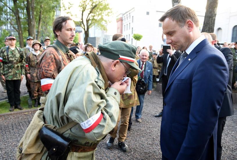 Prezydent elekt Andrzej Duda /Jacek Turczyk /PAP