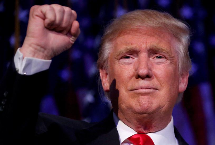 Prezydent-elekt Donald Trump /Carlo Allegri / Reuters /FORUM
