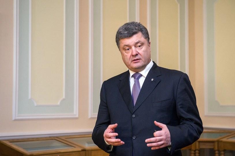 Prezydent elekt Ukrainy Petro Poroszenko. /AFP
