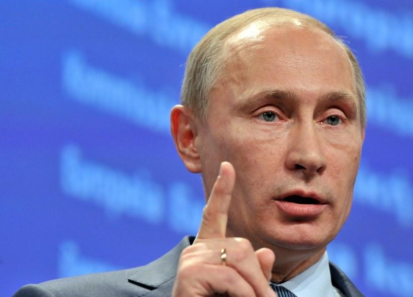 Prezydent Federacji Rosyjskiej Władimir Putin. /AFP