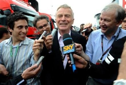 Prezydent FIA Max Mosley /AFP