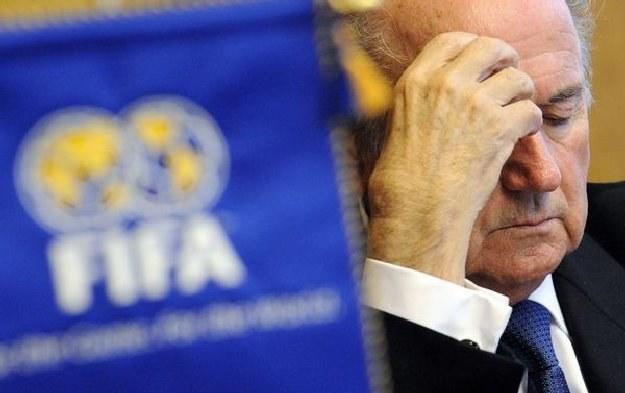 Prezydent FIFA Joseph Blatter złożył kondolencje po śmierci Lecha Kaczyńskiego /AFP