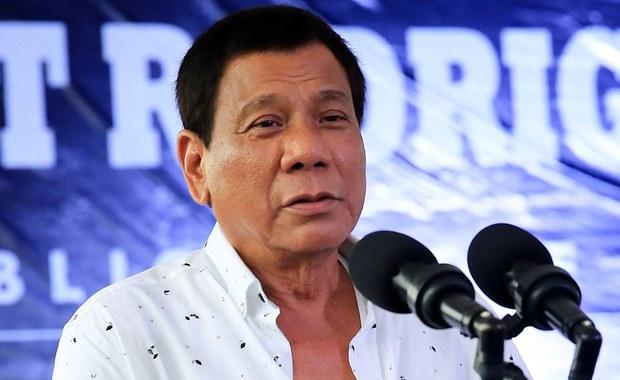 Prezydent Filipin do swojego syna: Jeśli handlujesz narkotykami, to cię zabijemy