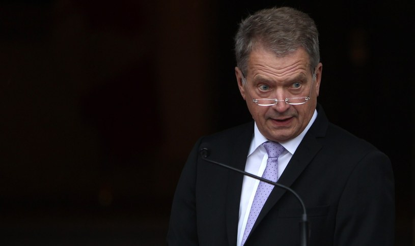 Prezydent Finlandii Sauli Niinistö /AFP