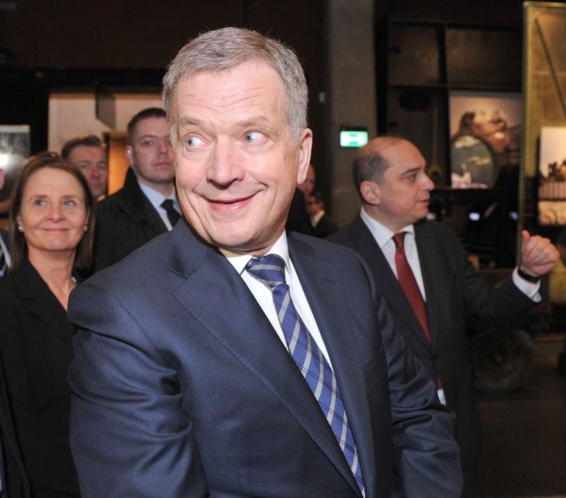 Prezydent Finlandii Sauli Niinisto /Przemek Świderski /East News