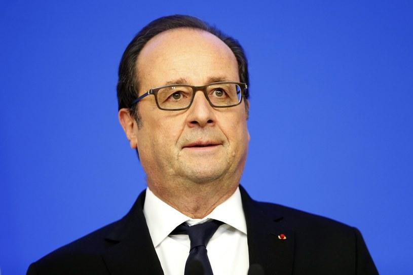 Prezydent Francji Francois Hollande /PAP/EPA