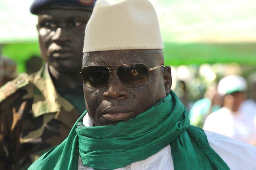 Prezydent Gambii Yahya Jammeh /AFP