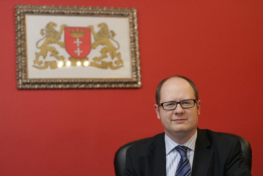 Prezydent Gdańska Paweł Adamowicz. /Adam Warżawa /PAP