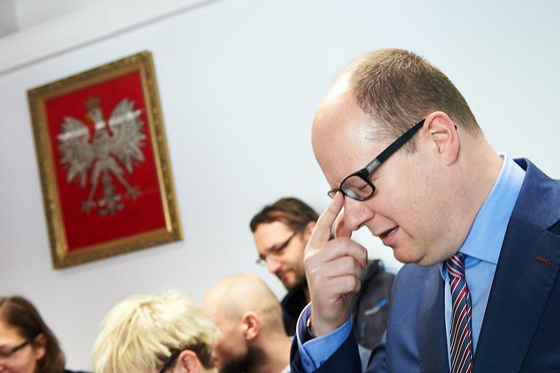 Prezydent Gdańska Paweł Adamowicz /Adam Warżawa /PAP