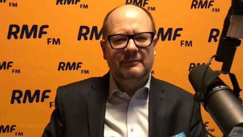 Prezydent Gdańska Paweł Adamowicz /RMF