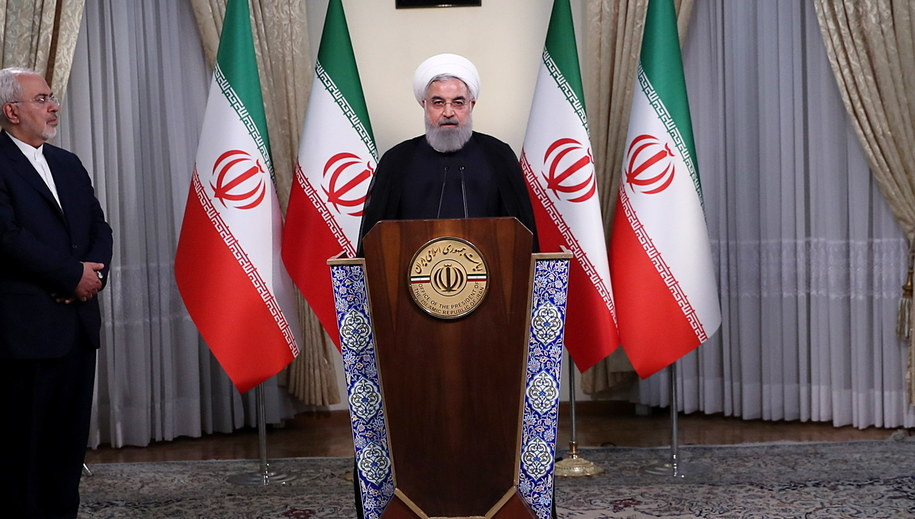 Prezydent Iranu Hasan Rouhani /PAP/EPA