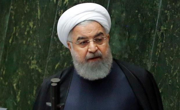 Prezydent Iranu triumfuje: Amerykanom nie udało się podważyć umowy nuklearnej