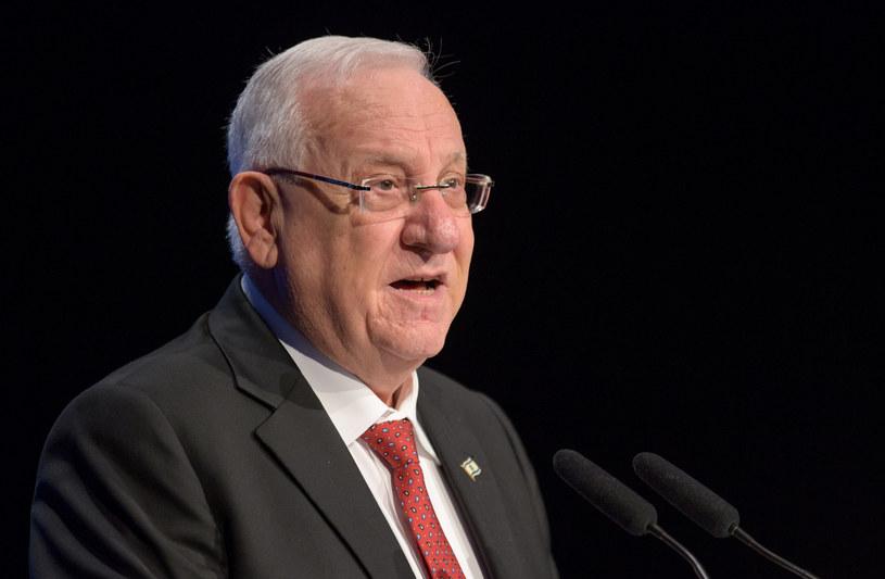 Prezydent Izraela Reuwen Riwlin /Matthias Balk/DPA /AFP