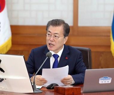 Prezydent Korei Płd. odpowiedział na niespodziewaną deklarację Kim Dzong Una