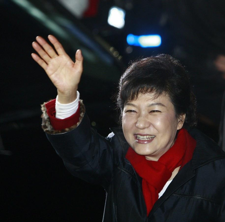 Prezydent Korei Południowej Park Geun Hie /KIM HEE-CHUL /PAP/EPA