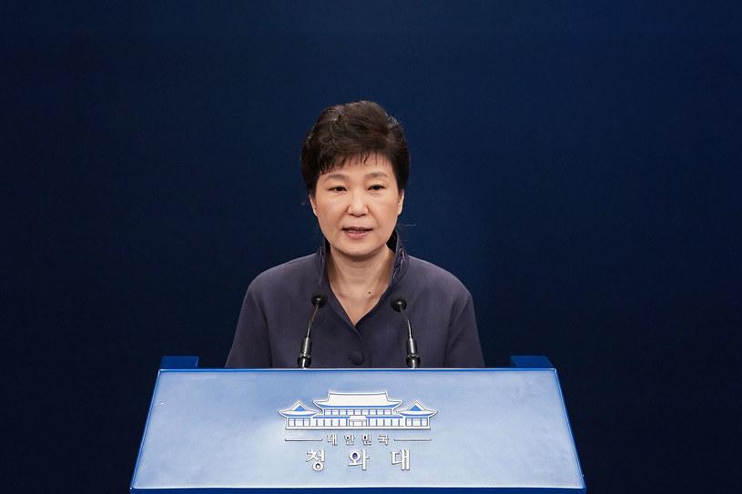 Prezydent Korei Południowej Park Geun-Hye /Getty Images