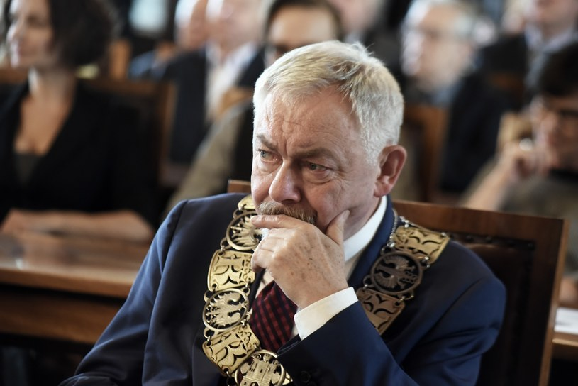 Prezydent Krakowa Jacek Majchrowski /Marek Lasyk  /Reporter