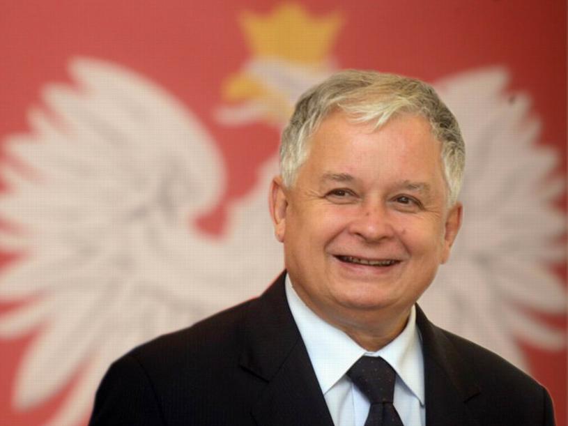 Prezydent Lech Kaczyński /prezydent.pl /East News