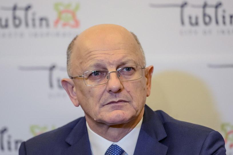 Prezydent Lublina Krzysztof Żuk /Wojciech Pacewicz /PAP