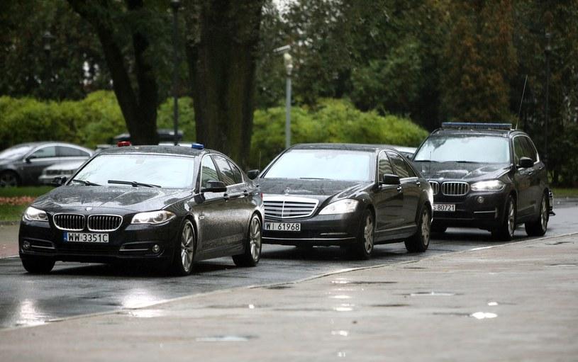 Prezydent może korzystać wyłącznie z samochodów BOR /Stanisław Kowalczuk /East News