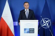 Prezydent: Na spotkaniu państw NATO potwierdzono realizację szczytu warszawskiego