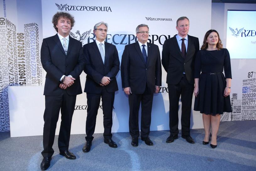 Prezydent odznaczył dziennikarzy /Leszek Szymański /PAP