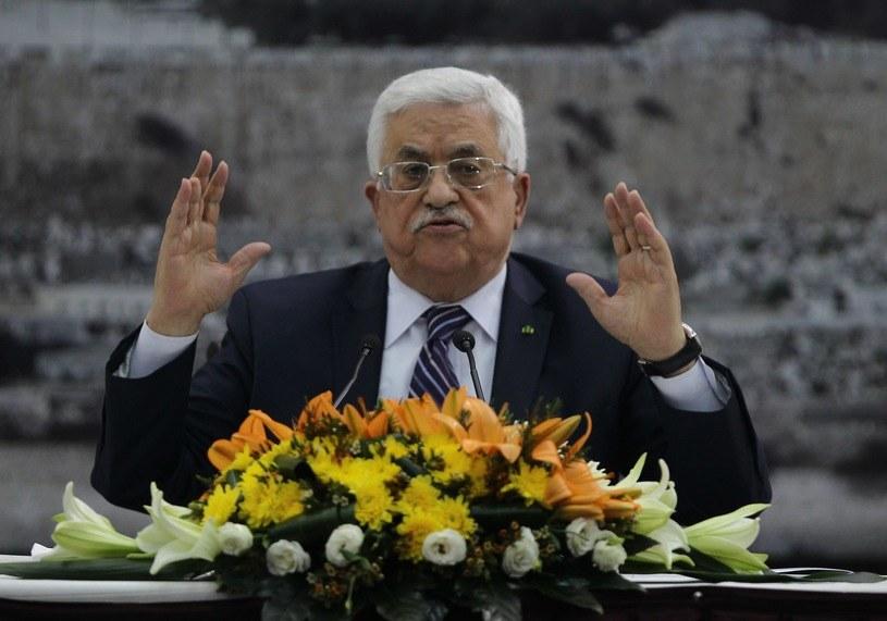 Prezydent Palestyny poparł apel Trumpa ws. osiedli żydowskich /AFP