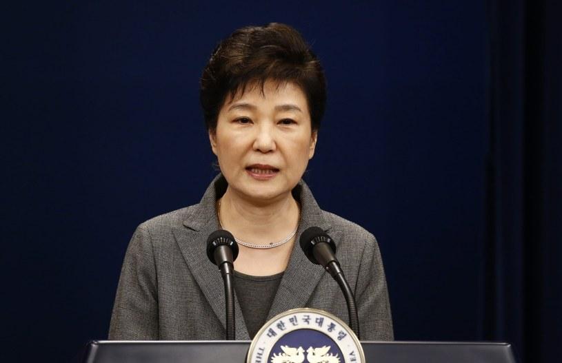 Prezydent Park ogłasza, że może ustąpić ze stanowiska /PAP/EPA