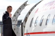 Prezydent przyleciał z wizytą do Słowenii