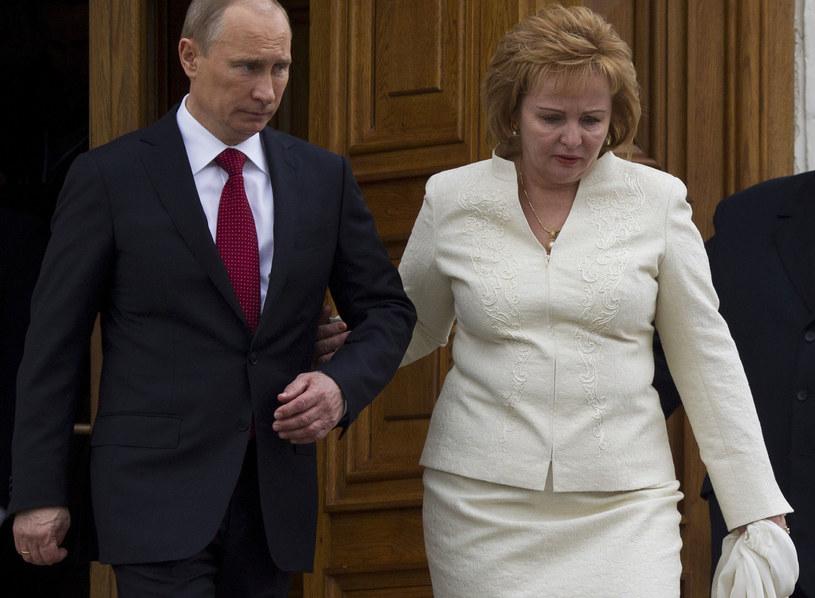 Prezydent Putin z żoną na zdjęciu z maja 2012 roku /Alexander Zemlianichenko /AFP