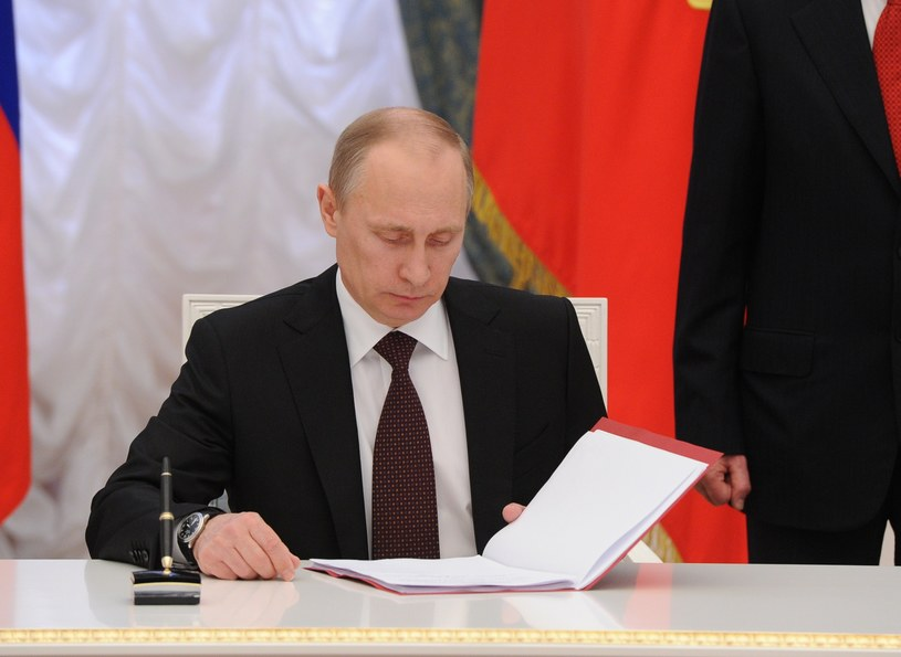 Prezydent Rosji Władimir Putin. /AFP