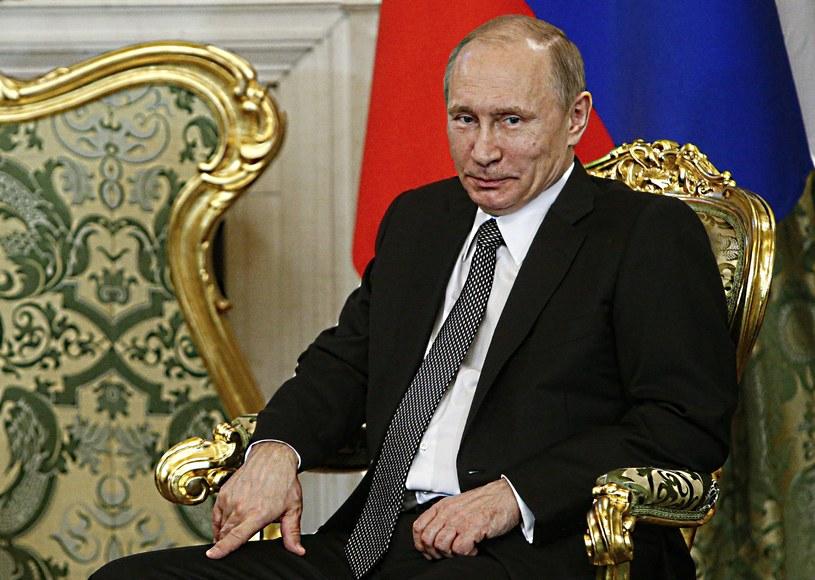 Prezydent Rosji, Władimir Putin /AFP