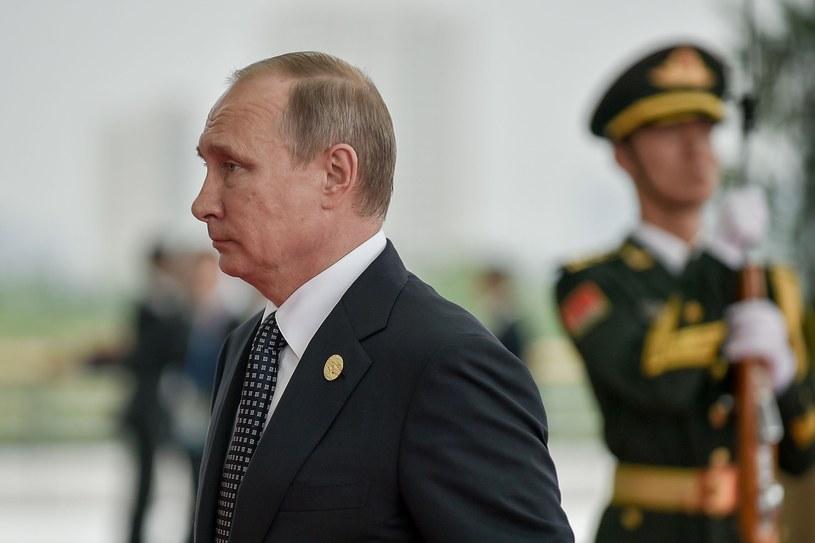 Prezydent Rosji Władimir Putin /ETIENNE OLIVEAU/AFP /East News