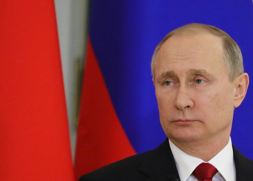 Prezydent Rosji Władimir Putin /PAP/EPA