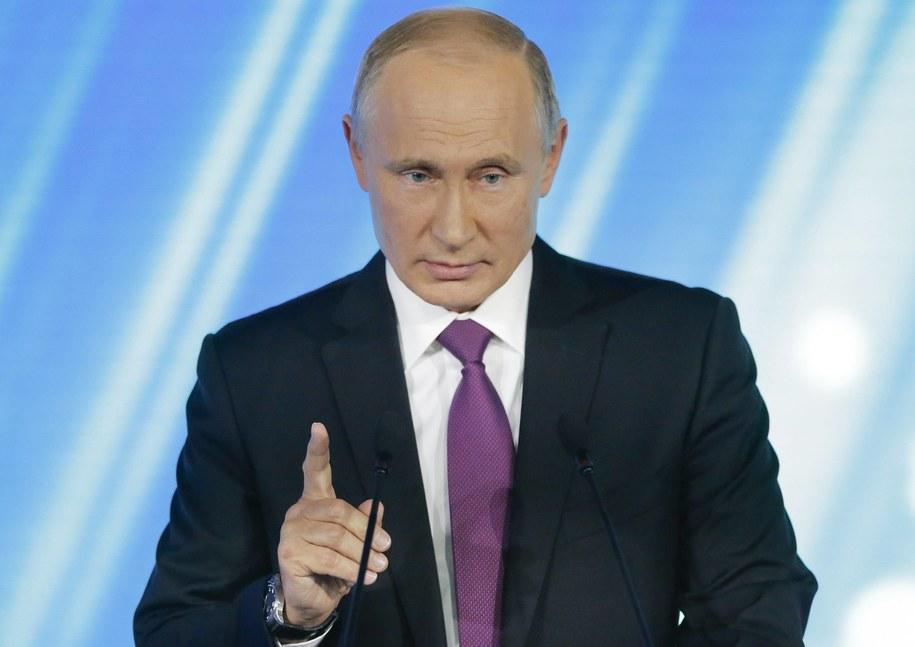 Prezydent Rosji Władimir Putin /ALEXANDER ZEMLIANICHENKO/POOL    /PAP/EPA
