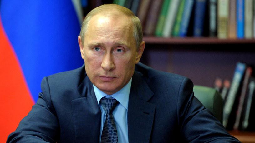 Prezydent Rosji Władymir Putin. /AFP