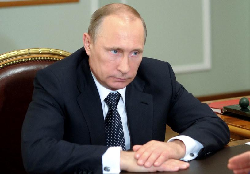 Prezydent Rosji Władymir Putin. /ALEKSEY BABUSHKIN/RIA NOVOSTI /PAP/EPA