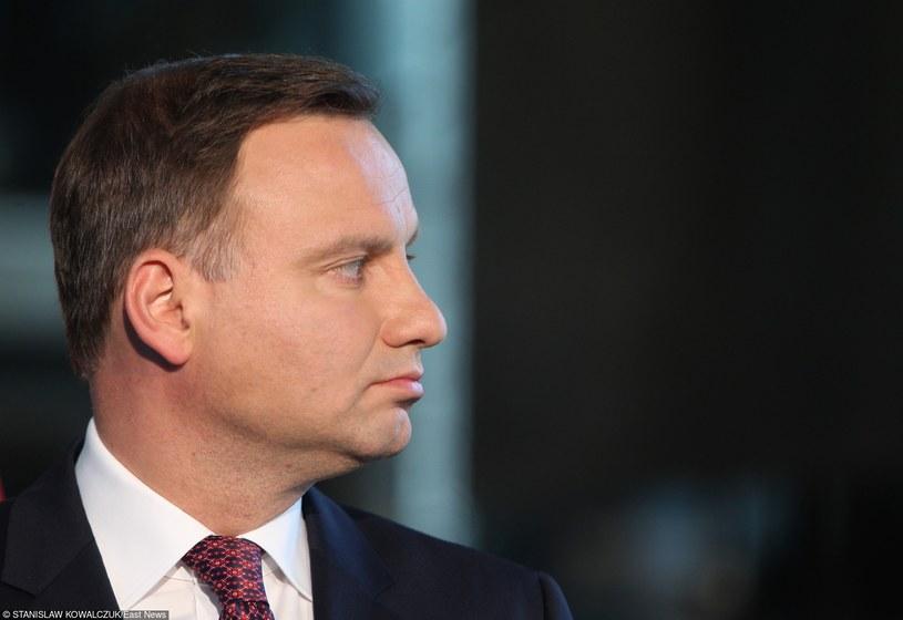 Prezydent RP Andrzej Duda /Stanisław Kowalczuk /East News