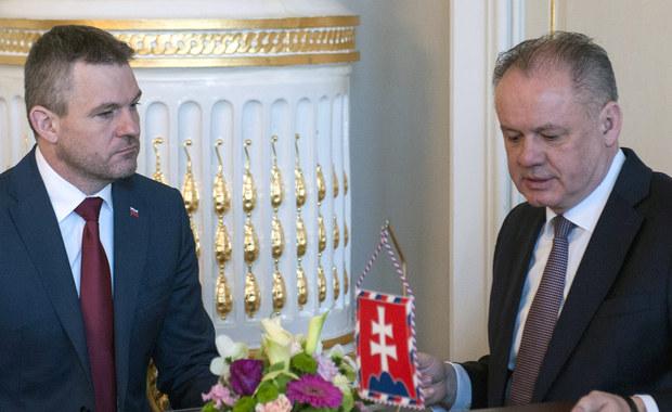 Prezydent Słowacji zaakceptował skład nowego rządu. Nie jest jednak zadowolony