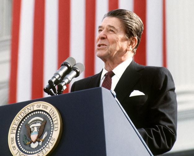 Prezydent Stanów Zjednoczonych Ronald Reagan /AFP
