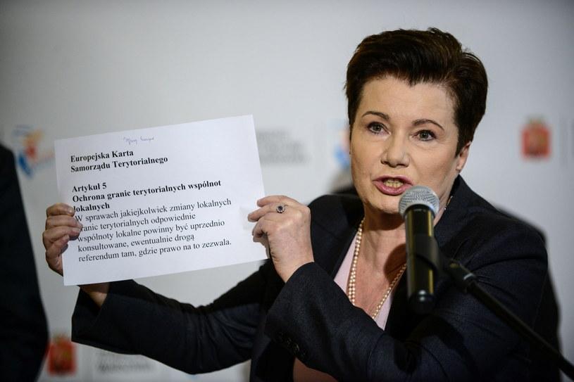 Prezydent stolicy Hanna Gronkiewicz-Waltz /PAP/EPA