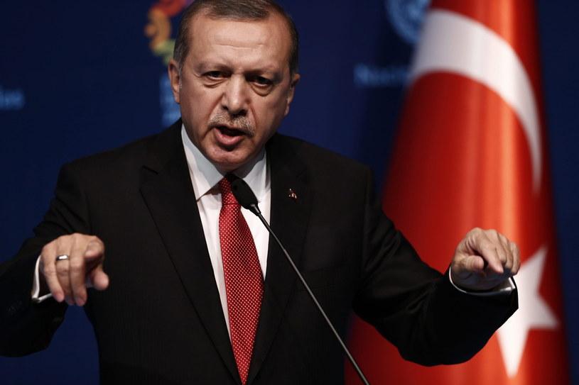 Prezydent Turcji /SEDAT SUNA /PAP/EPA