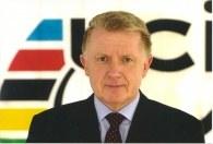 Prezydent UCI, Hein Verbruggen /Informacja prasowa