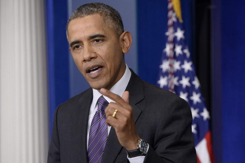 Prezydent USA Barack Obama. /AFP