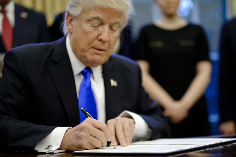 Prezydent USA Donald Trump /PAP/EPA