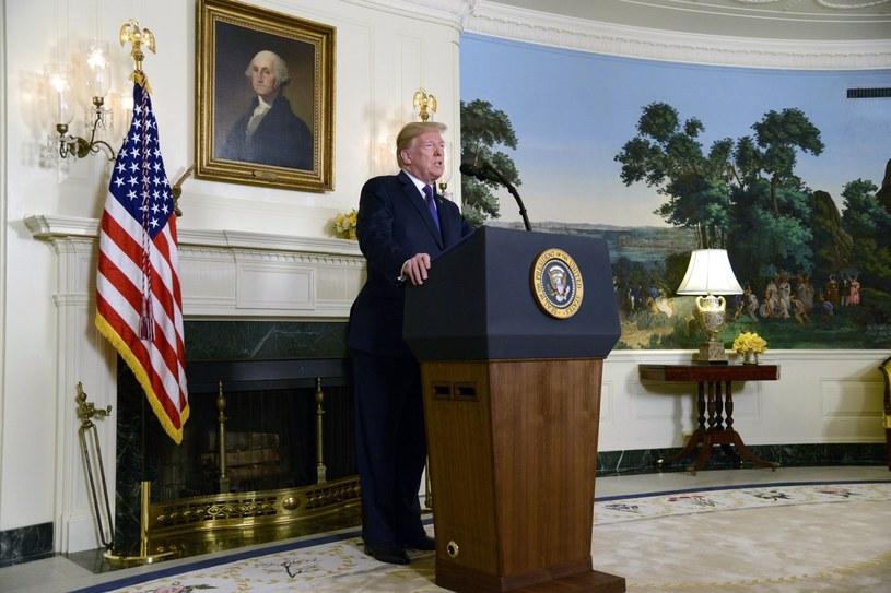 Prezydent USA Donald Trump /PAP