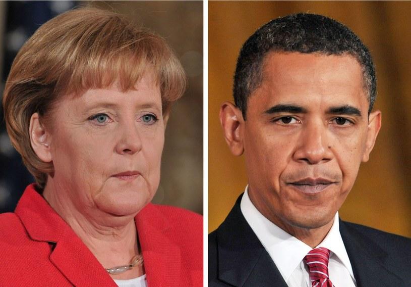 Prezydent USA i kanclerz Niemiec ponownie zaapelowali do Rosji o wycofanie wojsk spod granicy z Ukrainą /AFP