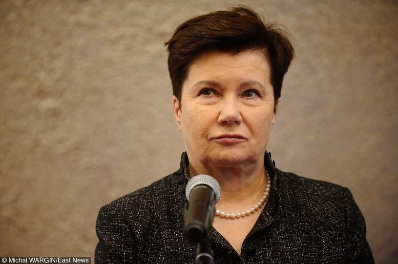 Prezydent Warszawy Hanna Gronkiewicz-Waltz /Michal WARGIN /East News
